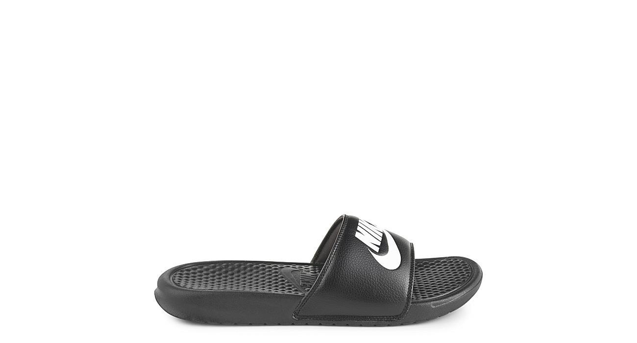 NIKE Mens Benassi Just Do It Sandal - BLACK