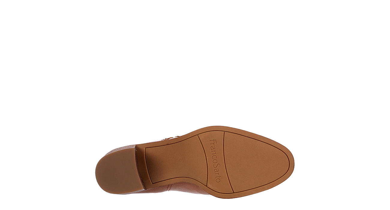 FRANCO SARTO Womens Kipp Ankle Bootie - TAN