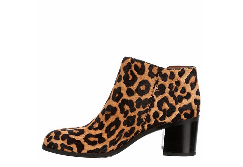 FRANCO SARTO Womens Kipp Ankle Bootie - LEOPARD