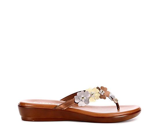 Womens Smilla Thong Flat Sandal