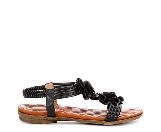 Womens Nectarine Flat Comfort Sandal