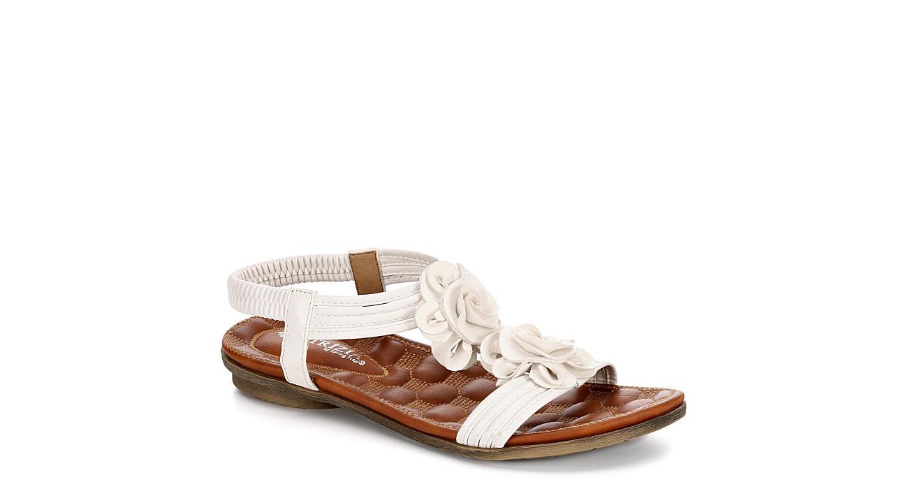 PATRIZIA Womens Nectarine Flat Comfort Sandal - WHITE