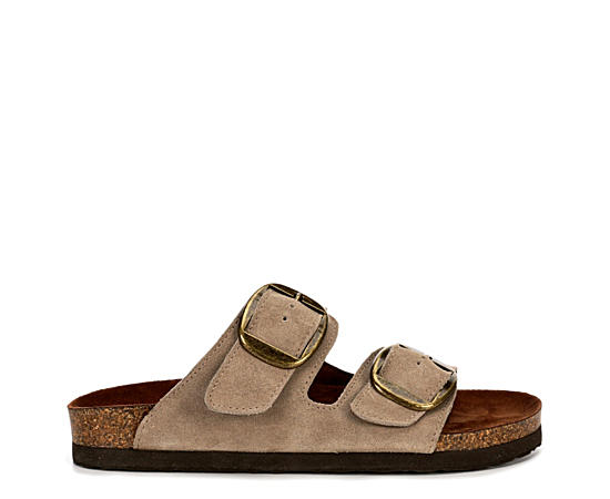 Womens Harlow Footbed Slide Sandal