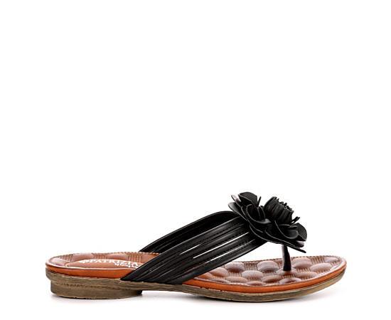 Womens Cattara Flat Thong Comfort Sandal