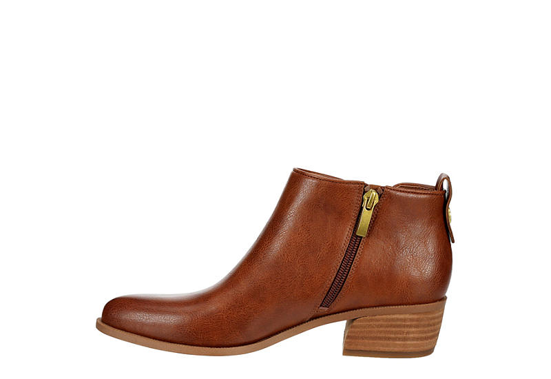 FRANCO SARTO Womens Lydia Ankle Bootie - COGNAC