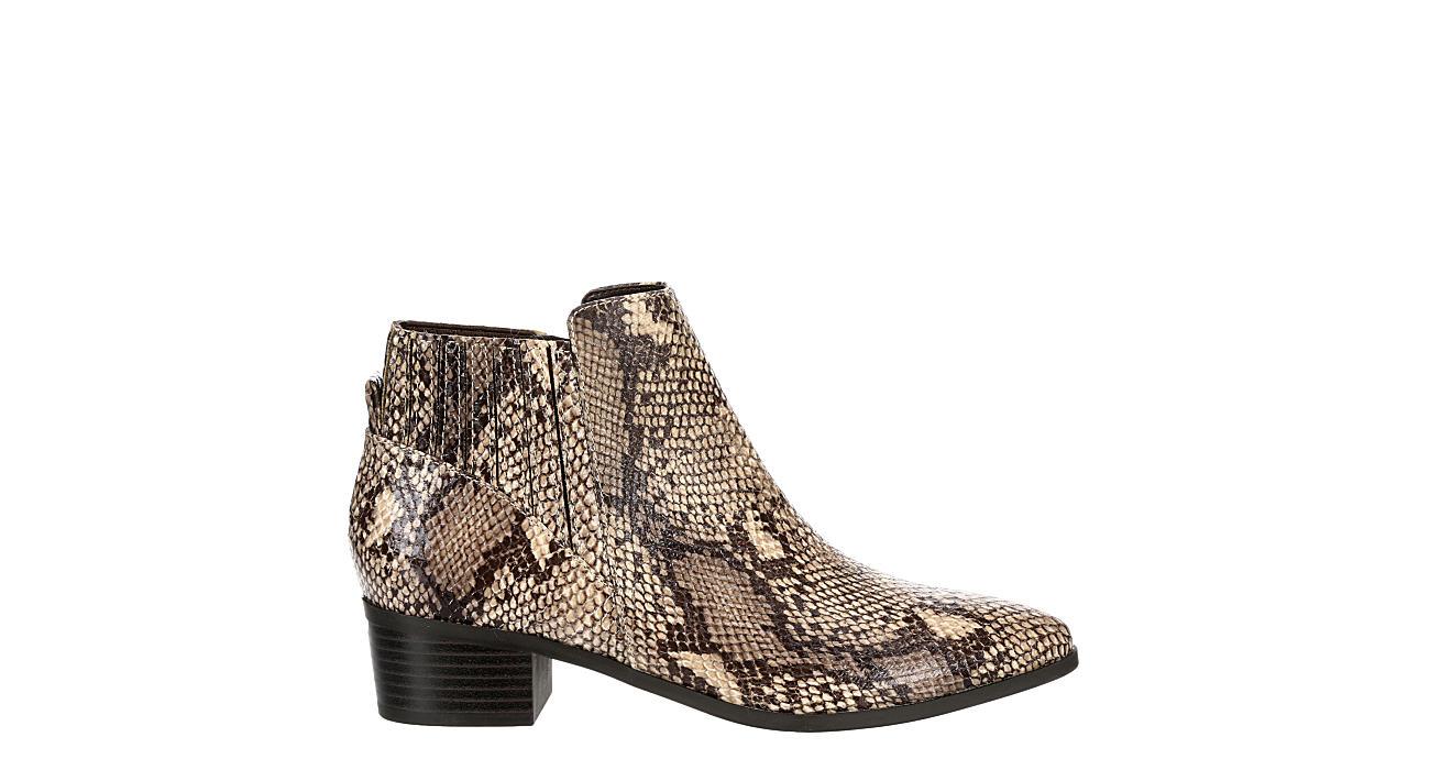 UNISA Womens Hollia Ankle Bootie - SNAKE