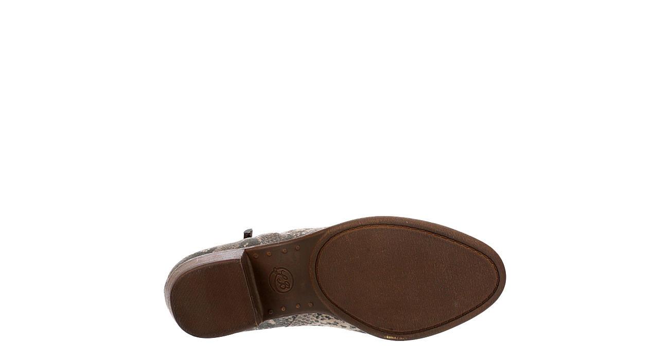 LUCKY BRAND Womens Bekleen Ankle Bootie - SNAKE
