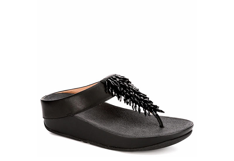 FITFLOP Womens Rumba - BLACK