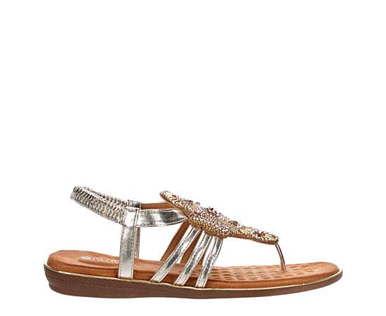 Womens Cleodorata Flat Thong Sandal