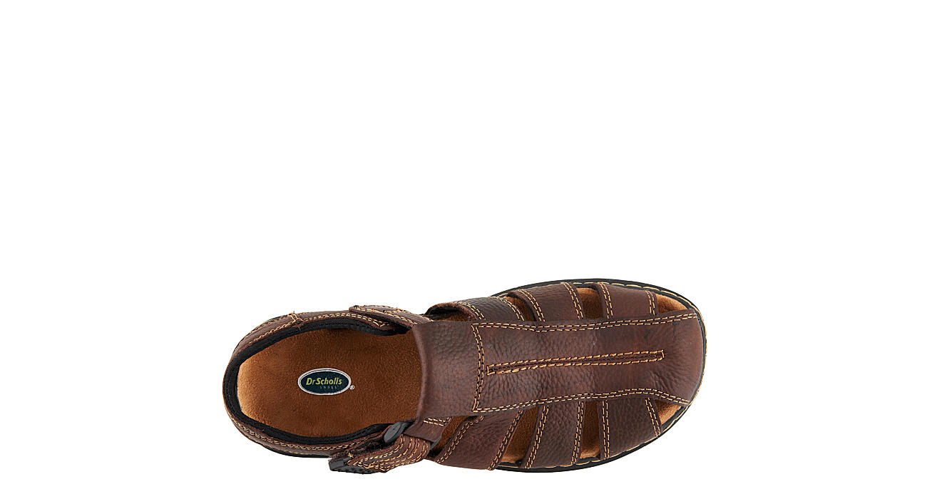 DR. SCHOLL'S Mens Gaston Casual Sandal - BROWN