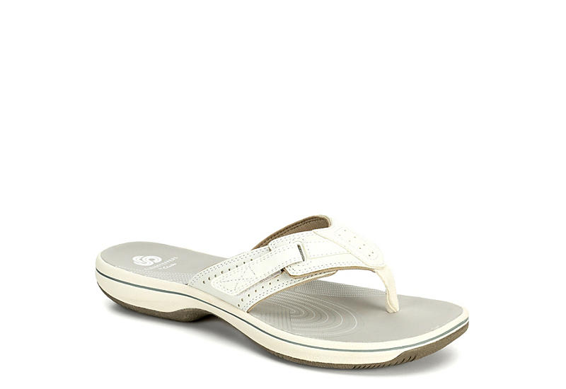 69ae52012 White Clarks Womens Brinkley Reef | Casual | Off Broadway Shoes