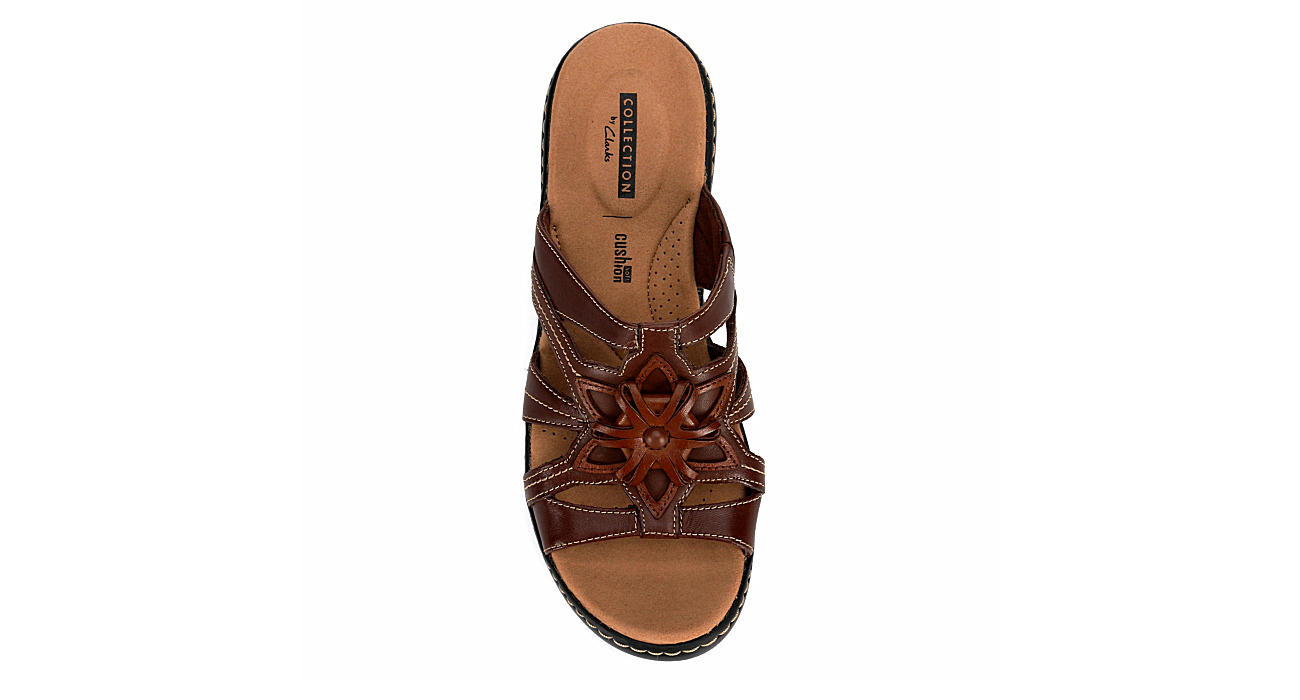 CLARKS Womens Delana Venna - BROWN