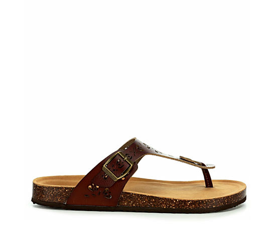 Womens Alessia Thong Footbed Sandal