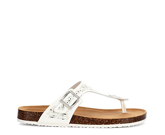 Womens Blakeley Thong Footbed Sandal