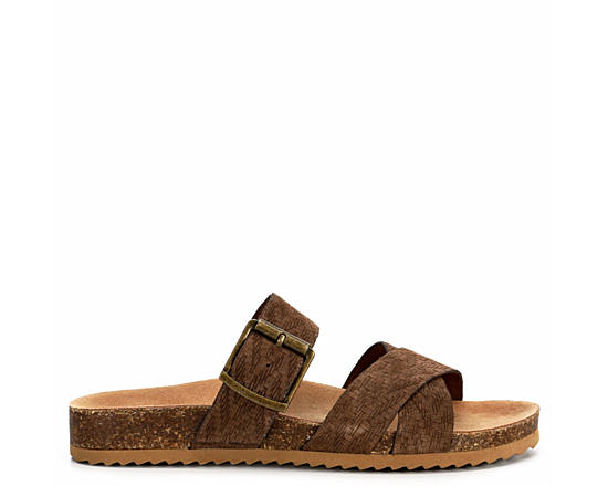 Womens Nora Footbed Slide Sandal