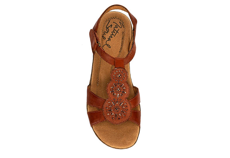 NATURAL SOUL BY NATURALIZER Womens Belle - TAN