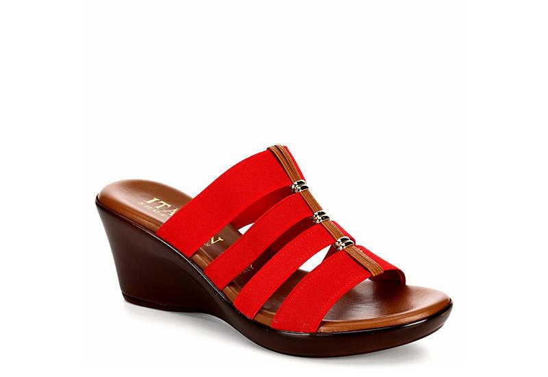 3deb69cf3 Italian Shoemakers Womens Clover - Red