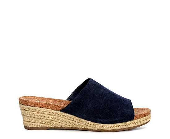 Womens Faye Espadrille Wedge Sandal