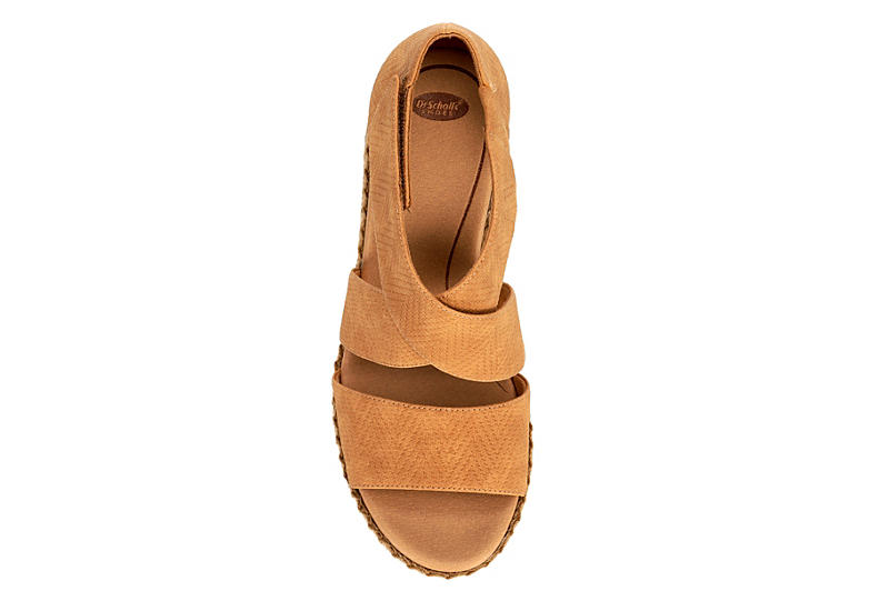 DR. SCHOLL'S Womens Vacay Wedge - NUDE