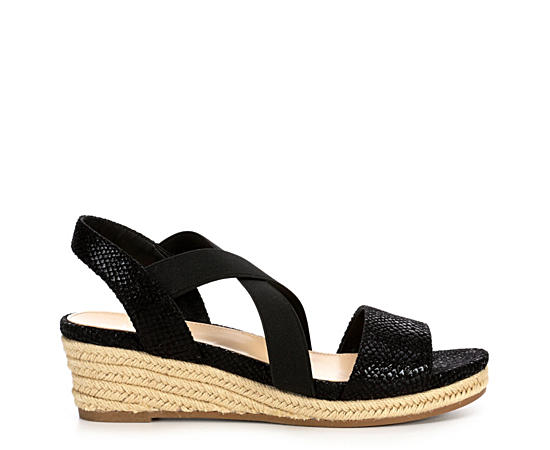 Womens Mary Wedge Sandal