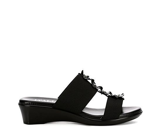 Womens Zarita Wedge Slide Sandal