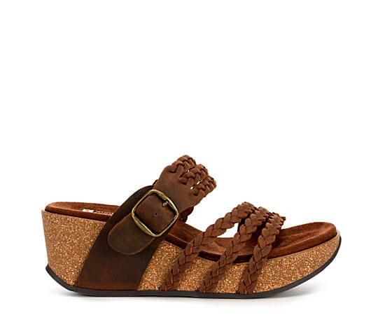 Womens Chantilly Footbed Wedge Sandal