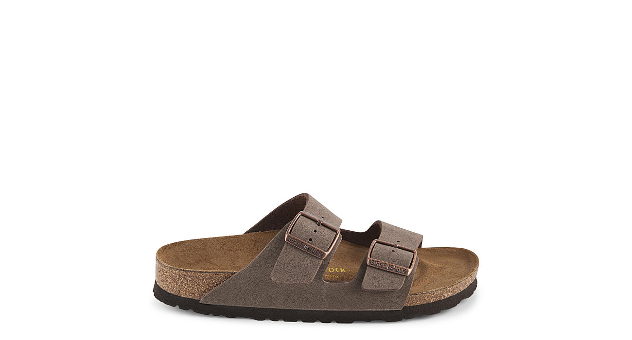 BIRKENSTOCK Womens Arizona Slide Sandal - BROWN
