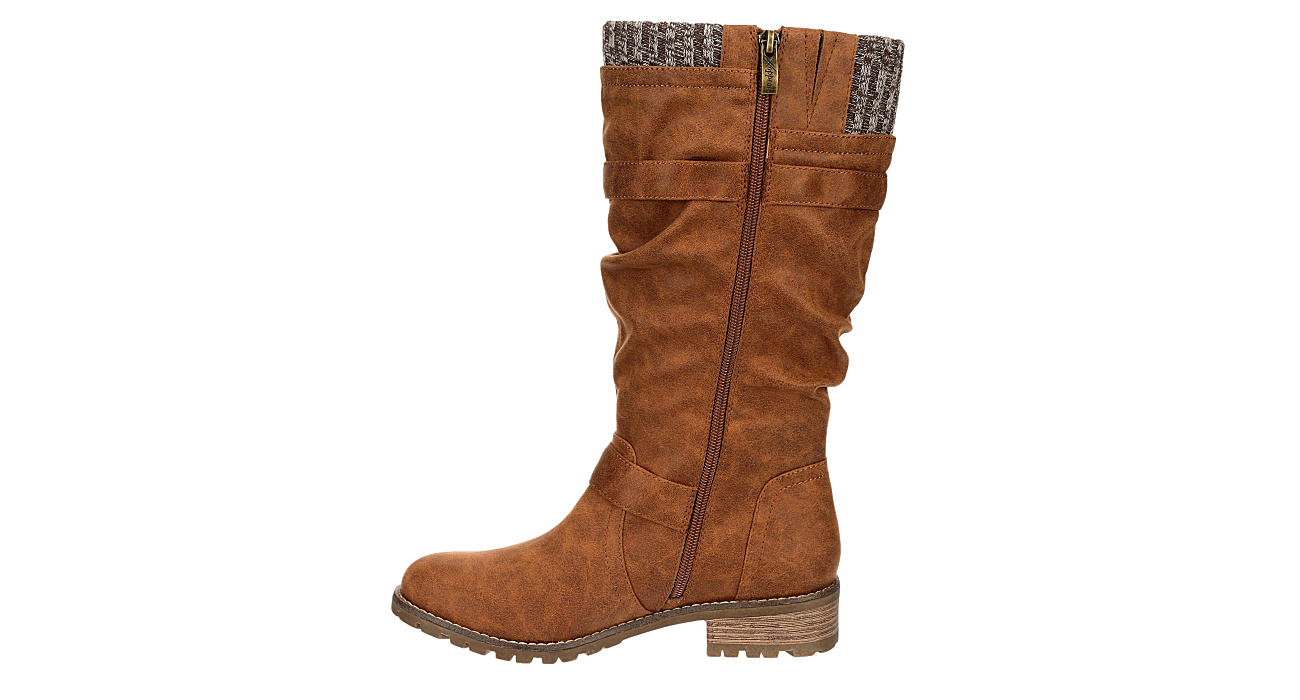 XAPPEAL Womens Chelsey Tall Boot - BROWN