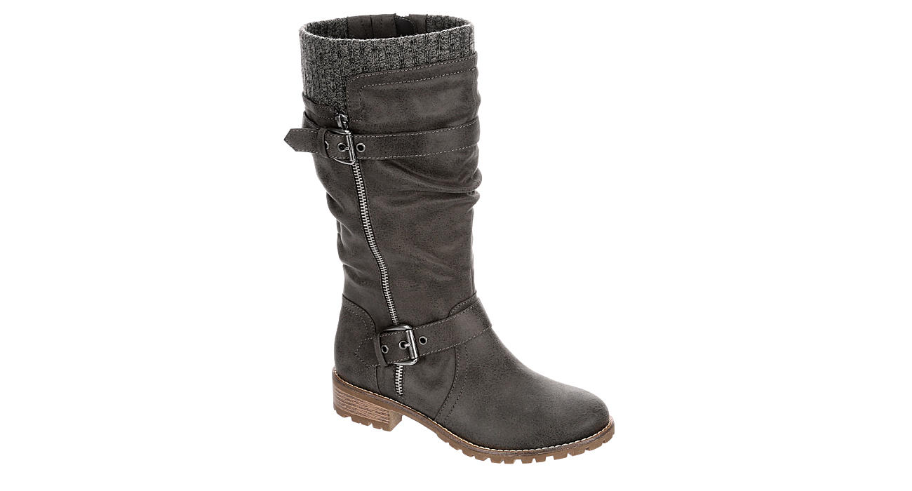 XAPPEAL Womens Chelsey Tall Boot - GREY
