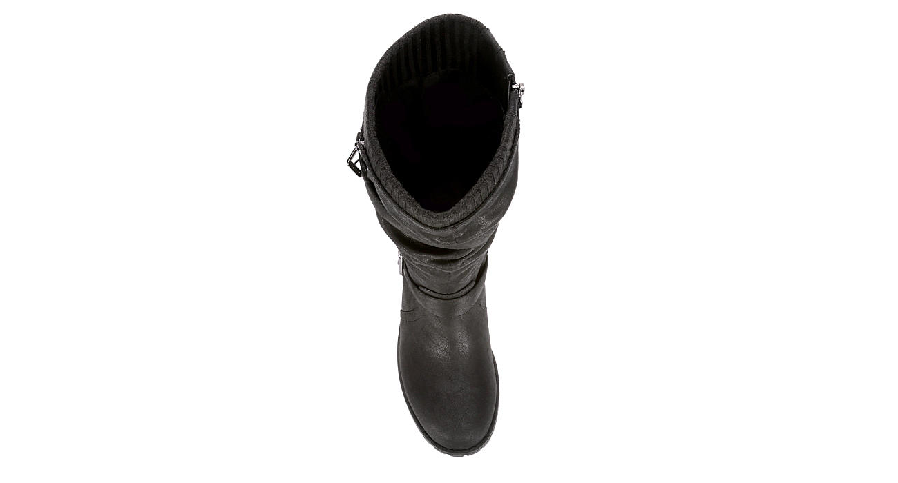 XAPPEAL Womens Chelsey Tall Boot - BLACK