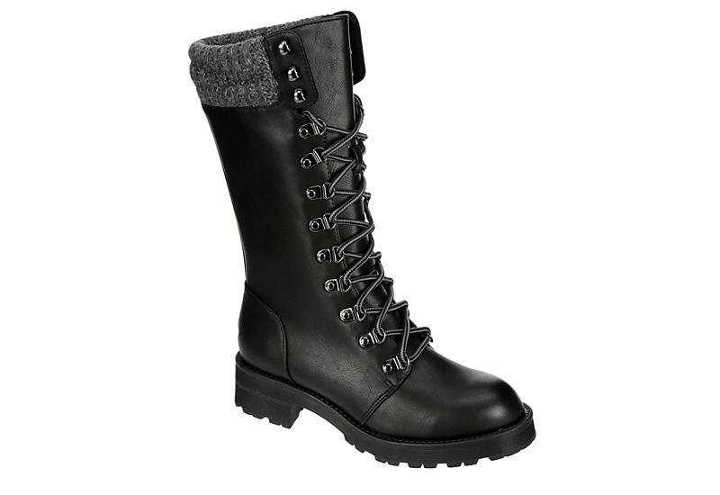 Tall Combat Boots Women