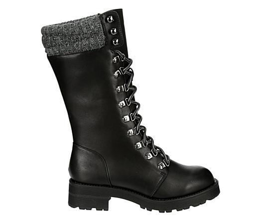 Womens Jenson Tall Combat Boot