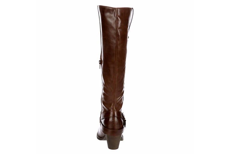 JELLYPOP Womens Orlin Tall Western Boot - BROWN