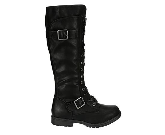 Womens Jewelz Tall Combat Boot