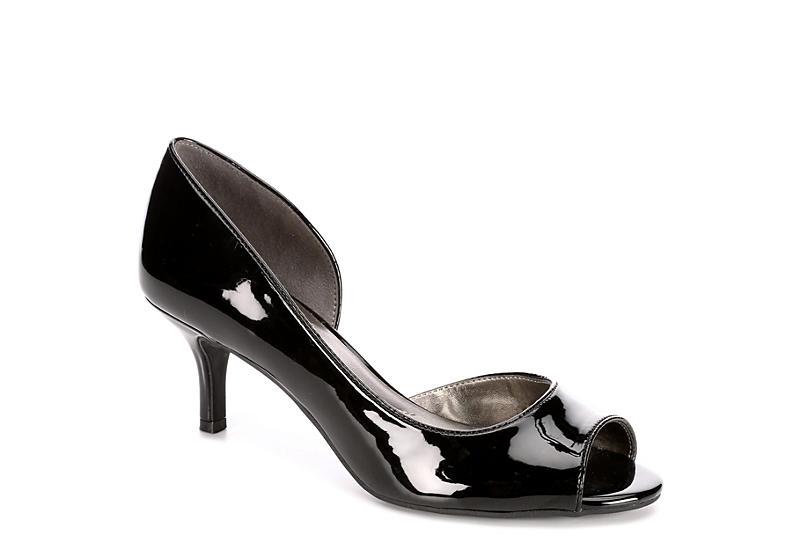 32d332d120 Black Bandolino Womens Nurri | Peep Toe | Off Broadway Shoes