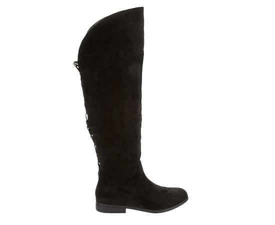 Womens Riot Over The Knee Boot