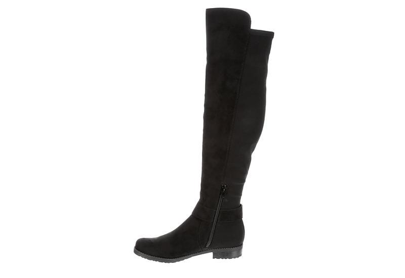 UNISA Womens Civi Over The Knee Boot - BLACK
