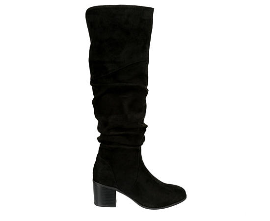 Womens Trap Over The Knee Boot