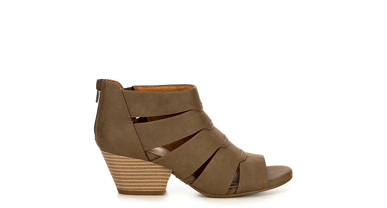 NATURAL SOUL BY NATURALIZER Womens Dori - TAUPE