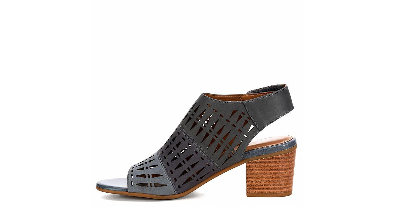 COMFORTIVA Womens Ally Sandal - BLACK