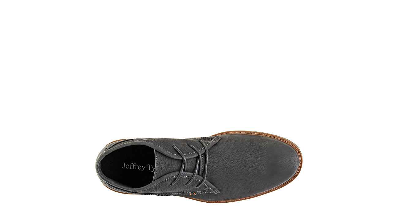 JEFFREY TYLER Mens Greenwich Chukka Boot - BLACK