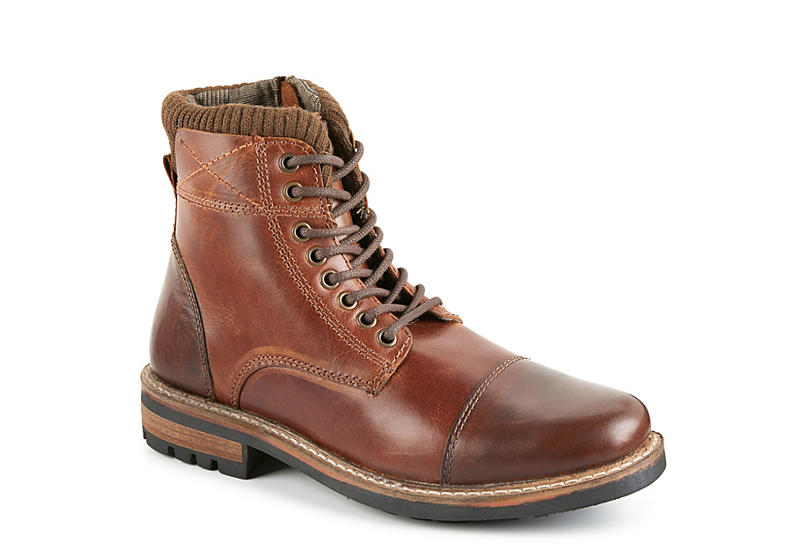 Brown Crevo Mens Camden Casual Boot | Boots | Off Broadway Shoes