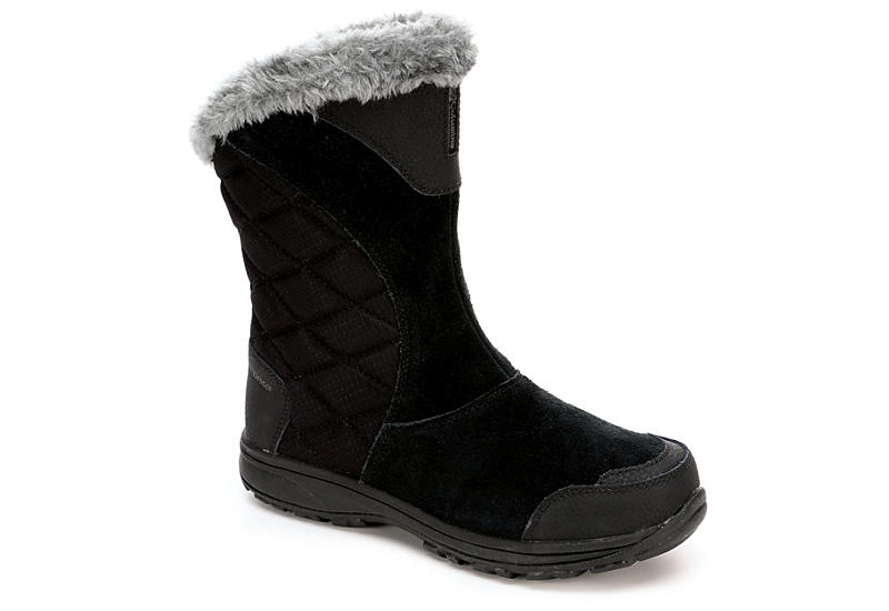 COLUMBIA Womens Ice Maiden Slip - BLACK