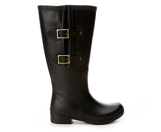 Womens Flex Fit Wide Calf Rain Boot