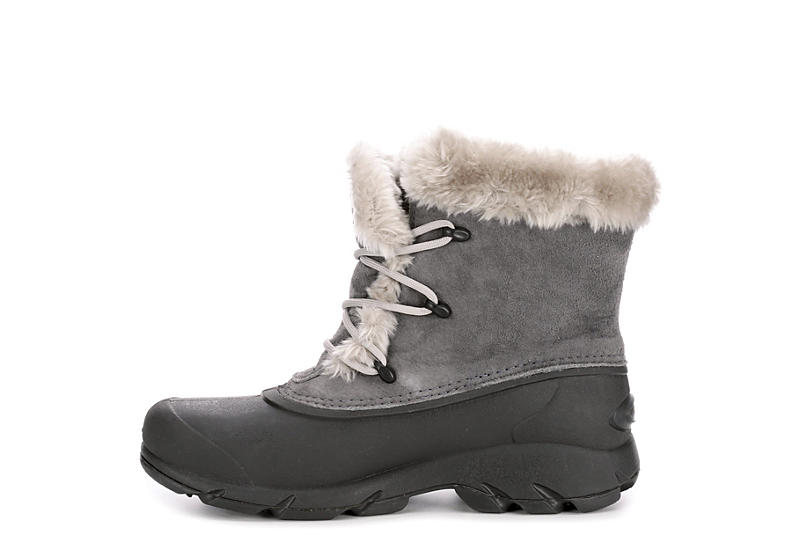 SOREL Womens Snow Angel Lace Cold Weather Boot - GREY