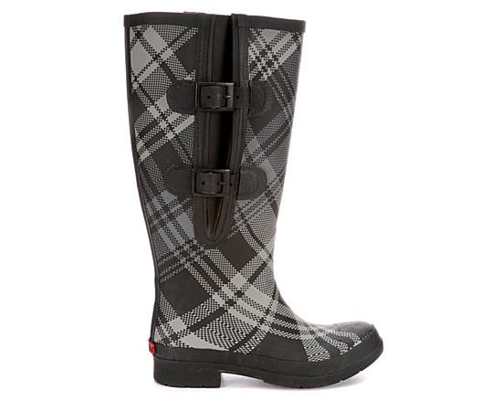 Womens Flex Fit Plaid