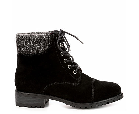 Womens Phoebe Combat Boot