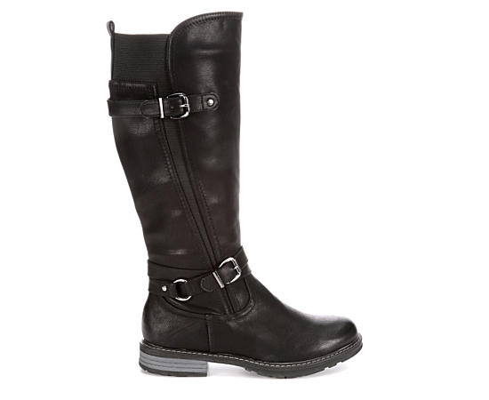 Womens Gnersis Wide Calf Riding Boot