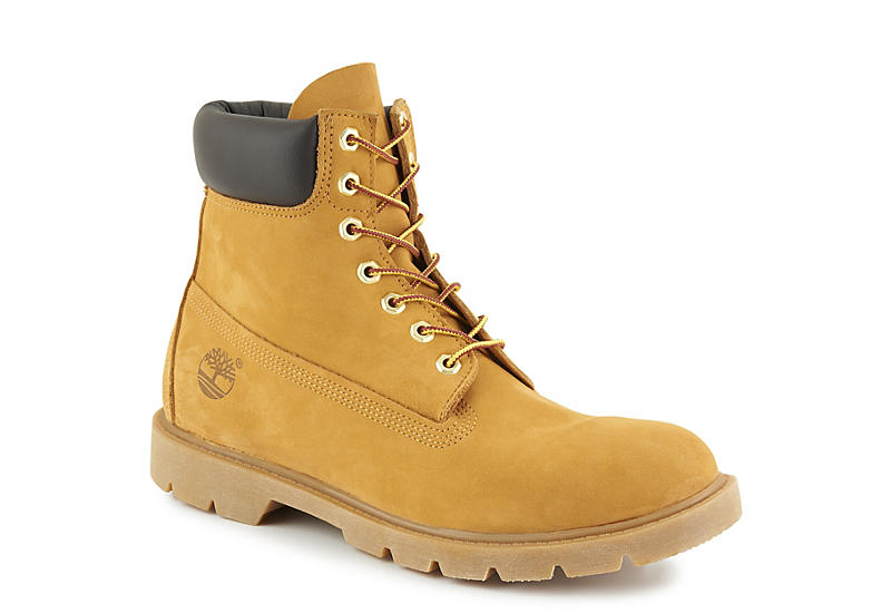TAN TIMBERLAND Mens 6 Inch Basic