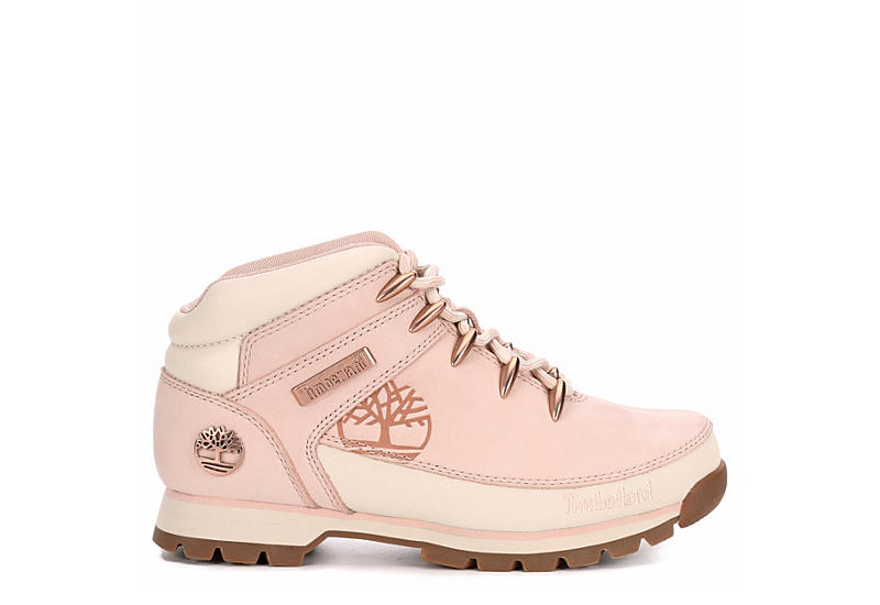 TIMBERLAND Womens Euro Hiker Boot - BLUSH